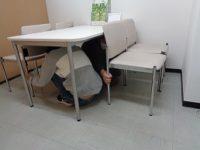 避難訓練地震